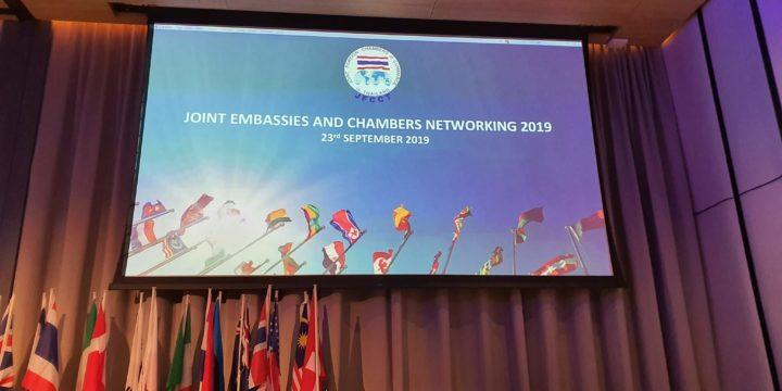 The Joint Foreign Chambers of Commerce in Thailand-JFCCT 2019年度大會